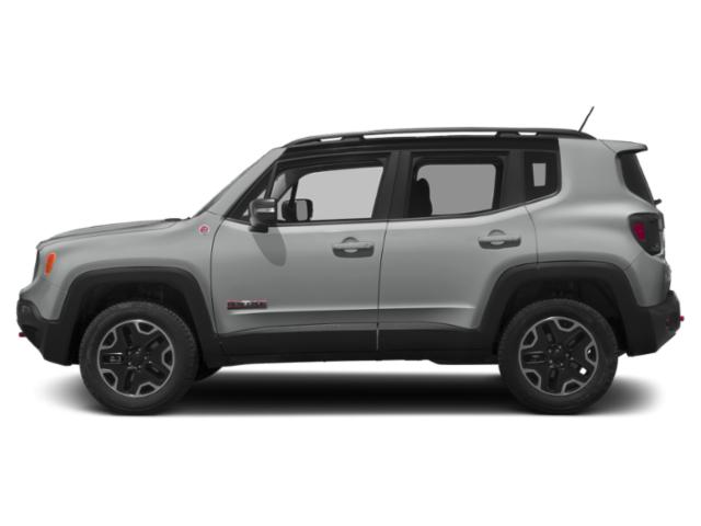 Glacier Metallic 2018 Jeep Renegade Pictures Renegade Utility 4D Trailhawk 4WD photos side view