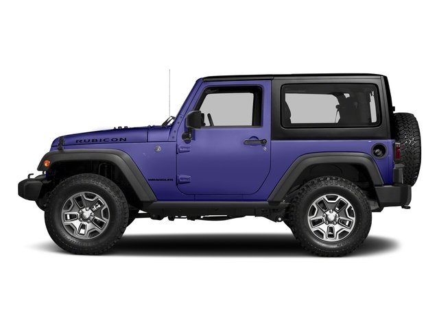 Xtreme Purple Pearlcoat 2018 Jeep Wrangler JK Pictures Wrangler JK Utility 2D Rubicon Recon 4WD V6 photos side view