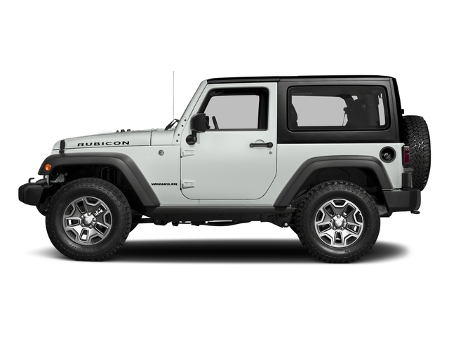 Bright White Clearcoat 2018 Jeep Wrangler JK Pictures Wrangler JK Utility 2D Rubicon Recon 4WD V6 photos side view
