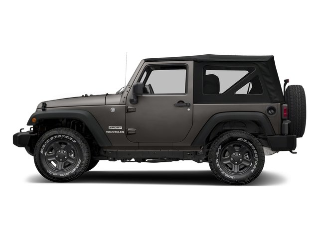 Granite Crystal Metallic Clearcoat 2018 Jeep Wrangler JK Pictures Wrangler JK Utility 2D Sport 4WD photos side view