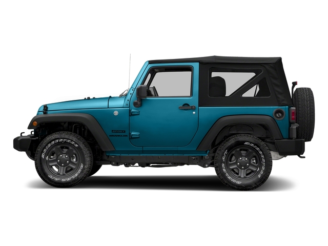 Chief Clearcoat 2018 Jeep Wrangler JK Pictures Wrangler JK Utility 2D Sport 4WD photos side view
