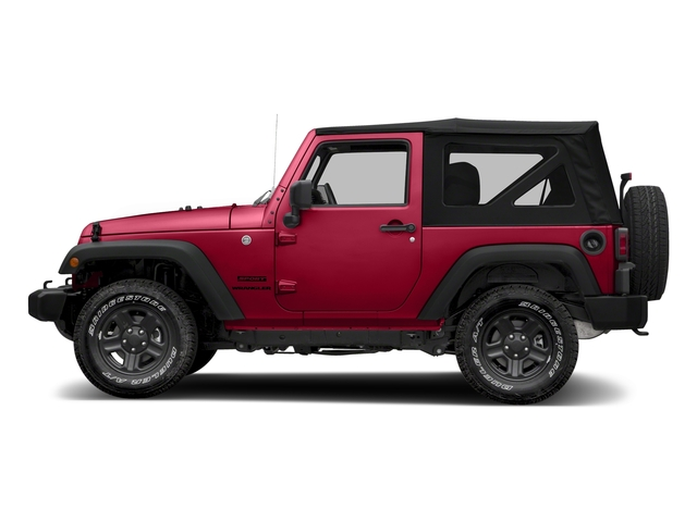 Firecracker Red Clearcoat 2018 Jeep Wrangler JK Pictures Wrangler JK Utility 2D Sport 4WD photos side view