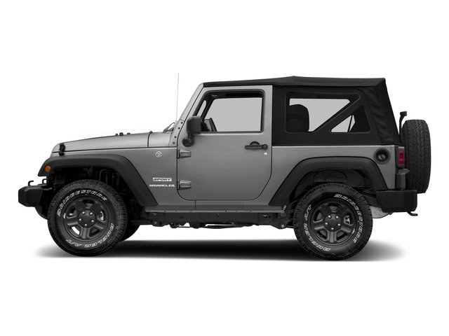 Billet Silver Metallic Clearcoat 2018 Jeep Wrangler JK Pictures Wrangler JK Utility 2D Sport 4WD photos side view