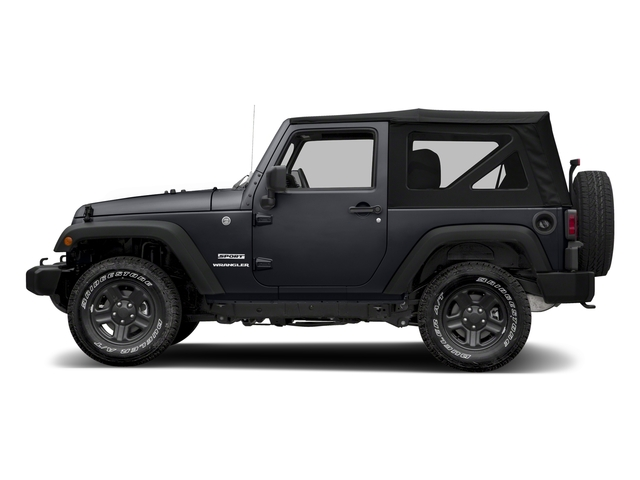 Rhino Clearcoat 2018 Jeep Wrangler JK Pictures Wrangler JK Utility 2D Sport 4WD photos side view