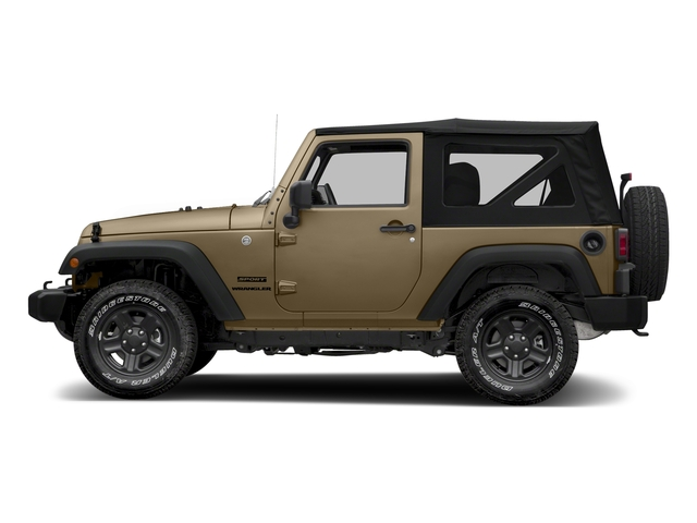 Gobi Clearcoat 2018 Jeep Wrangler JK Pictures Wrangler JK Utility 2D Sport 4WD photos side view