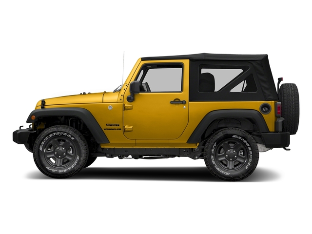 Baja Yellow Clearcoat 2018 Jeep Wrangler JK Pictures Wrangler JK Utility 2D Sport 4WD photos side view