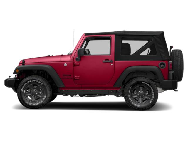 Firecracker Red Clearcoat 2018 Jeep Wrangler JK Pictures Wrangler JK Golden Eagle 4x4 photos side view