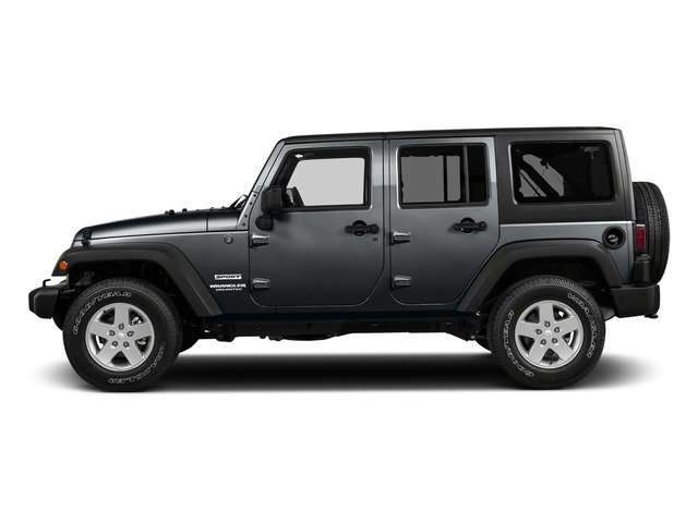 Granite Crystal Metallic Clearcoat 2018 Jeep Wrangler JK Unlimited Pictures Wrangler JK Unlimited Sport RHD 4x4 photos side view