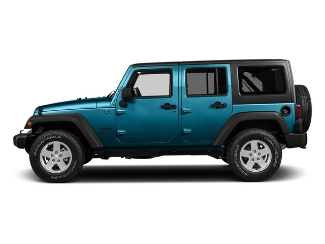 Chief Clearcoat 2018 Jeep Wrangler JK Unlimited Pictures Wrangler JK Unlimited Sport RHD 4x4 photos side view
