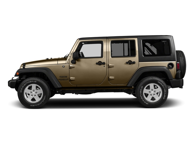 Gobi Clearcoat 2018 Jeep Wrangler JK Unlimited Pictures Wrangler JK Unlimited Sport RHD 4x4 photos side view