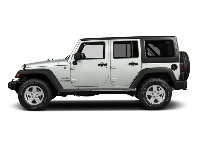 Bright White Clearcoat 2018 Jeep Wrangler JK Unlimited Pictures Wrangler JK Unlimited Willys Wheeler 4x4 photos side view