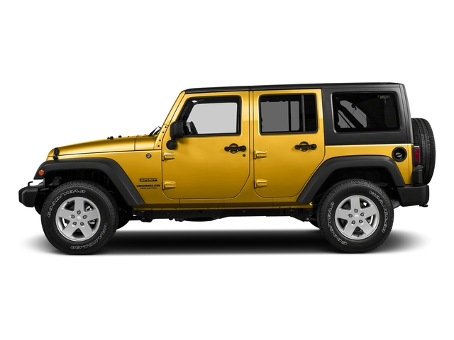 Baja Yellow Clearcoat 2018 Jeep Wrangler JK Unlimited Pictures Wrangler JK Unlimited Willys Wheeler 4x4 photos side view