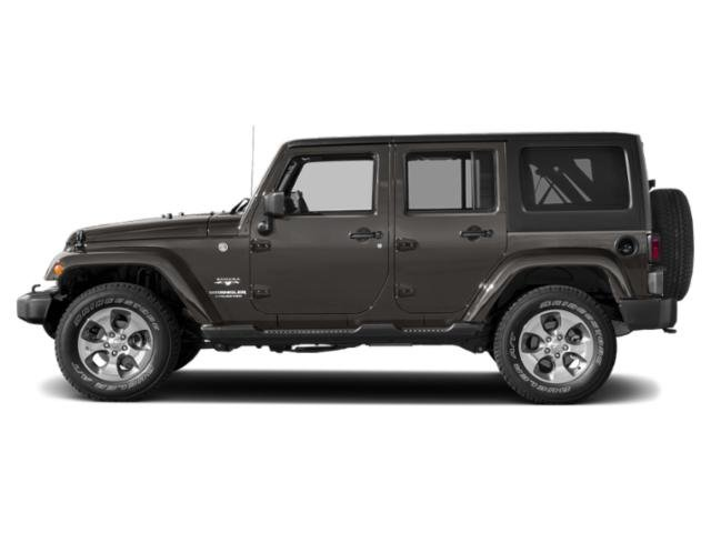 Granite Crystal Metallic Clearcoat 2018 Jeep Wrangler JK Unlimited Pictures Wrangler JK Unlimited Utility 4D Unlimited Sahara 4WD photos side view