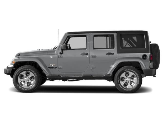 Billet Silver Metallic Clearcoat 2018 Jeep Wrangler JK Unlimited Pictures Wrangler JK Unlimited Utility 4D Unlimited Sahara 4WD photos side view