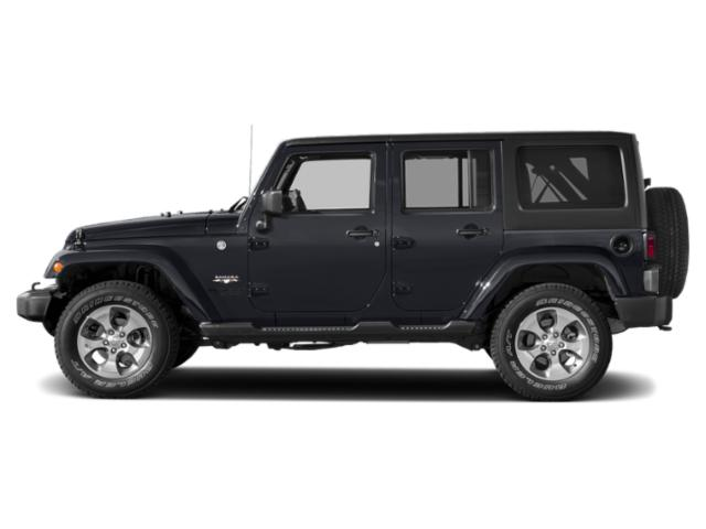 Rhino Clearcoat 2018 Jeep Wrangler JK Unlimited Pictures Wrangler JK Unlimited Utility 4D Unlimited Sahara 4WD photos side view