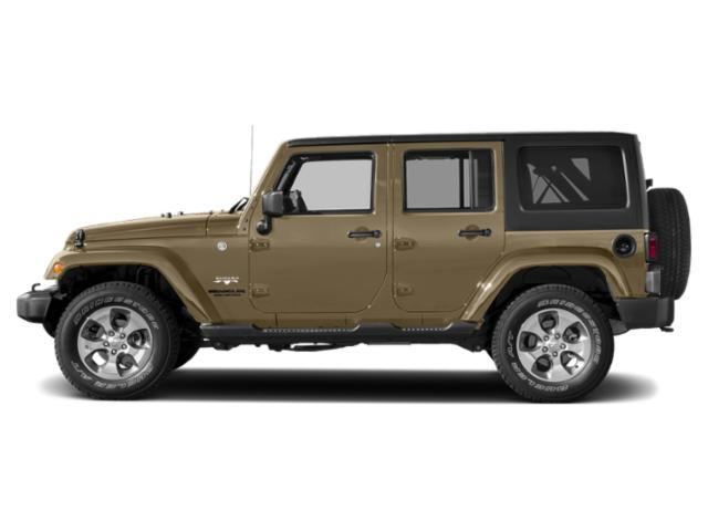 Gobi Clearcoat 2018 Jeep Wrangler JK Unlimited Pictures Wrangler JK Unlimited Utility 4D Unlimited Sahara 4WD photos side view