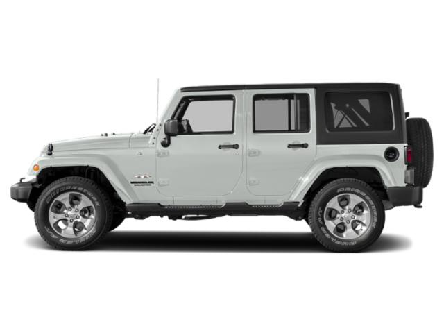 Bright White Clearcoat 2018 Jeep Wrangler JK Unlimited Pictures Wrangler JK Unlimited Utility 4D Unlimited Altitude 4WD V6 photos side view