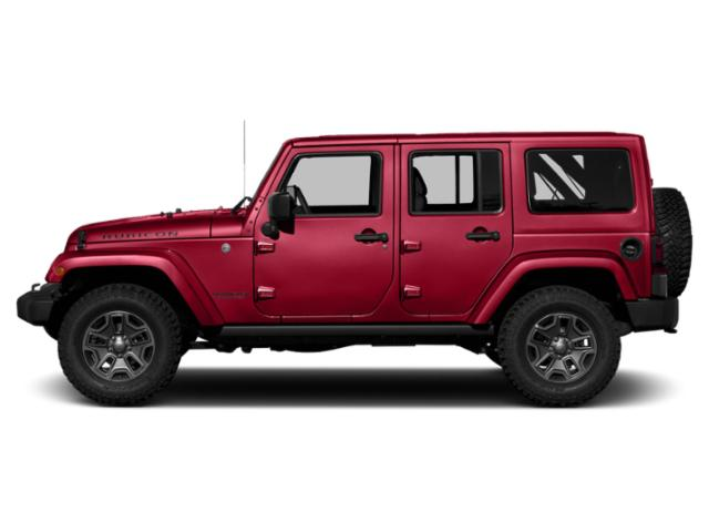 Firecracker Red Clearcoat 2018 Jeep Wrangler JK Unlimited Pictures Wrangler JK Unlimited Util 4D Unlimited Rubicon Recon 4WD photos side view