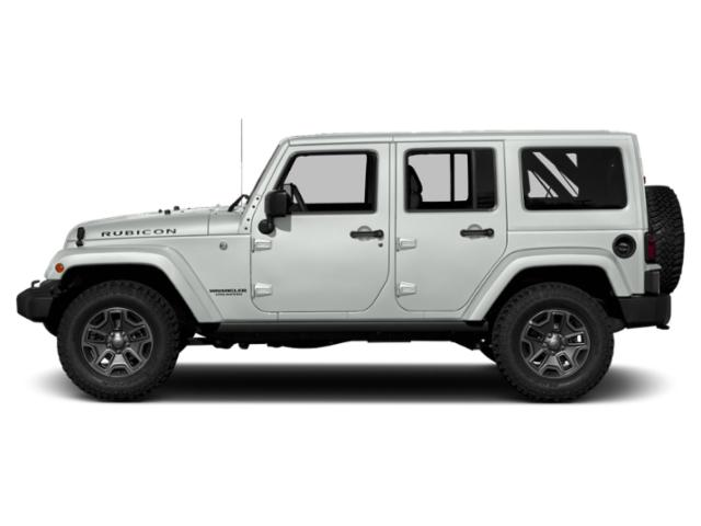 Bright White Clearcoat 2018 Jeep Wrangler JK Unlimited Pictures Wrangler JK Unlimited Util 4D Unlimited Rubicon Recon 4WD photos side view
