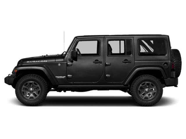Black Clearcoat 2018 Jeep Wrangler JK Unlimited Pictures Wrangler JK Unlimited Util 4D Unlimited Rubicon Recon 4WD photos side view