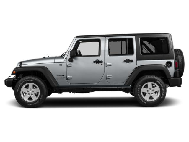 Billet Silver Metallic Clearcoat 2018 Jeep Wrangler JK Unlimited Pictures Wrangler JK Unlimited Utility 4D Unlimited Sport 4WD photos side view