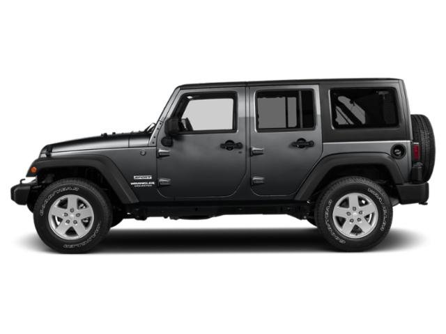 Granite Crystal Metallic Clearcoat 2018 Jeep Wrangler JK Unlimited Pictures Wrangler JK Unlimited Utility 4D Unlimited Sport 4WD photos side view