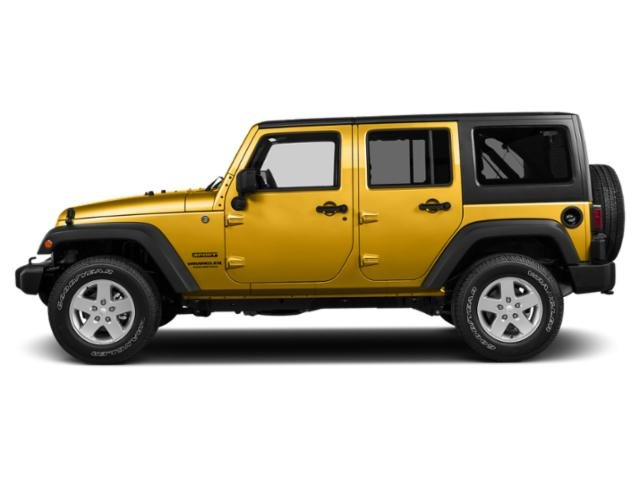 Baja Yellow Clearcoat 2018 Jeep Wrangler JK Unlimited Pictures Wrangler JK Unlimited Sport 4x4 photos side view