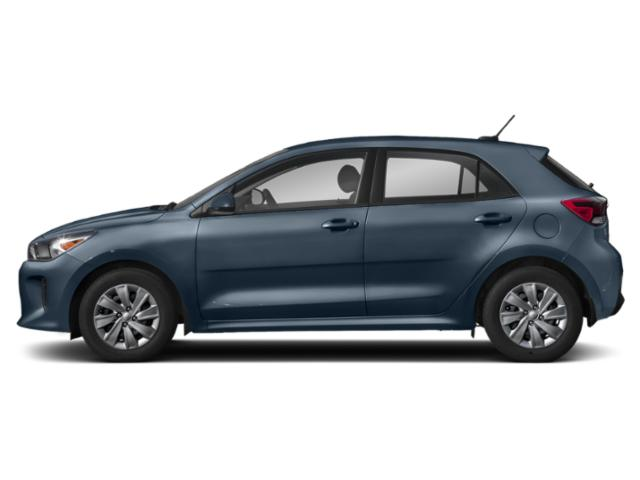Deep Sea Blue 2018 Kia Rio 5-door Pictures Rio 5-door EX Auto photos side view