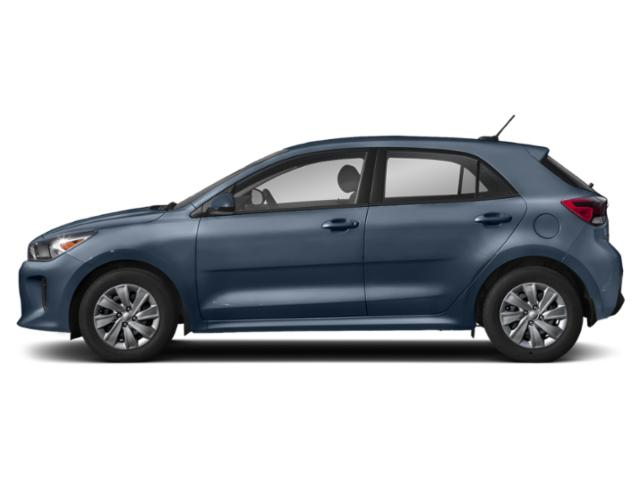 Smoke Blue 2018 Kia Rio 5-door Pictures Rio 5-door EX Auto photos side view
