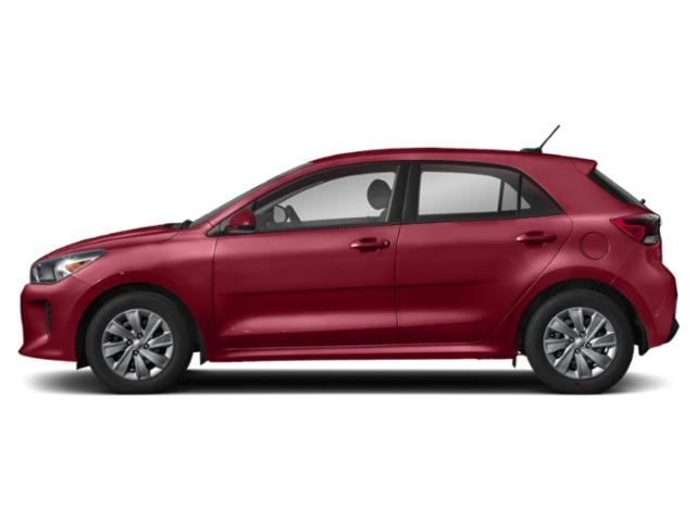 Currant Red 2018 Kia Rio 5-door Pictures Rio 5-door EX Auto photos side view