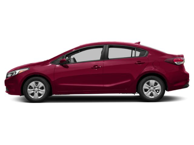 Garnet Red 2018 Kia Forte Pictures Forte LX Manual photos side view