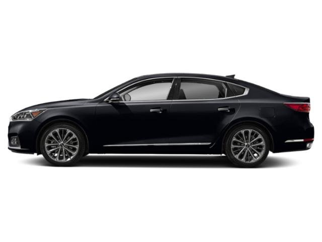 Aurora Black 2018 Kia Cadenza Pictures Cadenza Premium Sedan photos side view