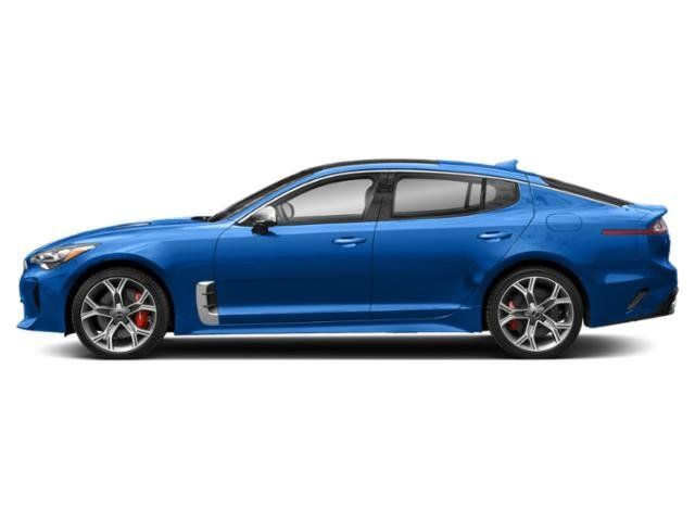 Micro Blue 2018 Kia Stinger Pictures Stinger GT RWD photos side view