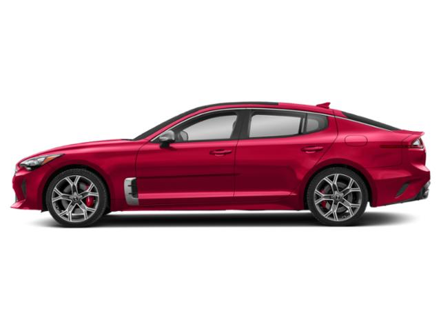 HiChroma Red 2018 Kia Stinger Pictures Stinger GT RWD photos side view