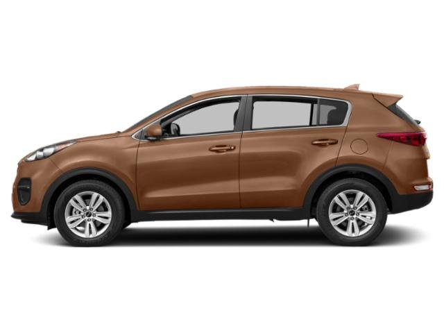 Burnished Copper 2018 Kia Sportage Pictures Sportage LX AWD photos side view