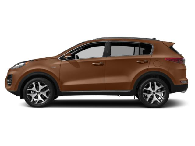 Burnished Copper 2018 Kia Sportage Pictures Sportage Utility 4D SX 2WD I4 Turbo photos side view