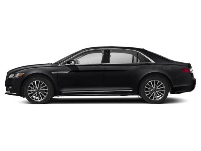 Black Velvet 2018 Lincoln Continental Pictures Continental Sedan 4D Reserve V6 Turbo photos side view