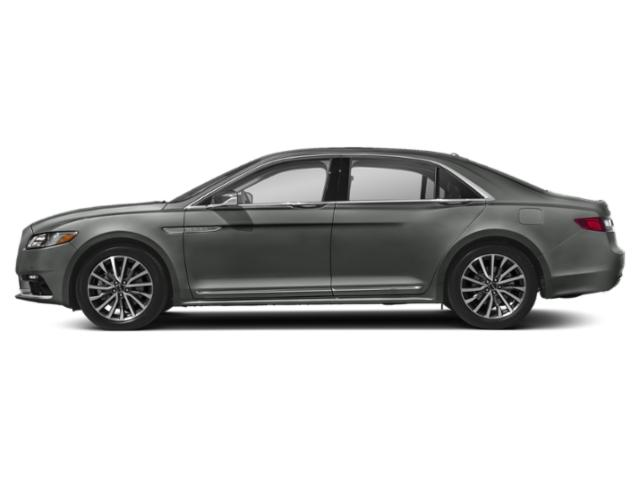 Magnetic Gray Metallic 2018 Lincoln Continental Pictures Continental Sedan 4D Reserve V6 Turbo photos side view