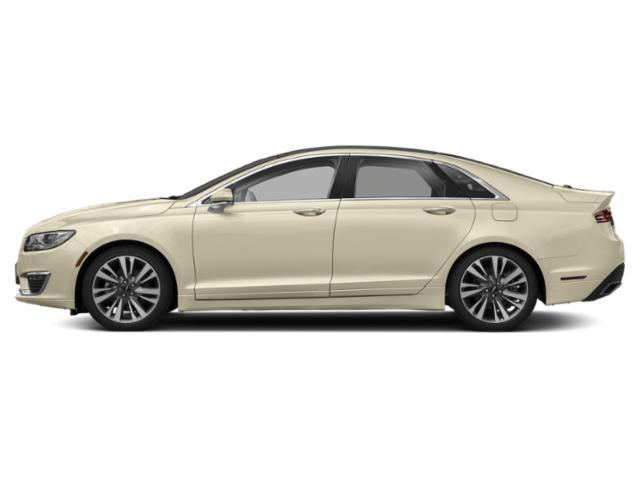 Ivory Pearl Metallic 2018 Lincoln MKZ Pictures MKZ Sedan 4D Reserve AWD V6 Turbo photos side view