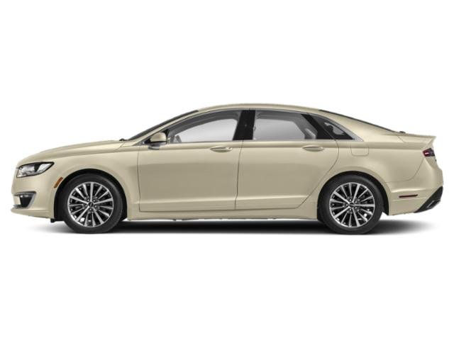 Ivory Pearl Metallic 2018 Lincoln MKZ Pictures MKZ Sedan 4D Reserve I4 Hybrid photos side view