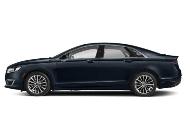 Rhapsody Blue 2018 Lincoln MKZ Pictures MKZ Sedan 4D Reserve I4 Hybrid photos side view