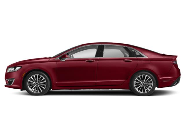 Ruby Red Metallic Tinted Clearcoat 2018 Lincoln MKZ Pictures MKZ Sedan 4D Reserve I4 Hybrid photos side view