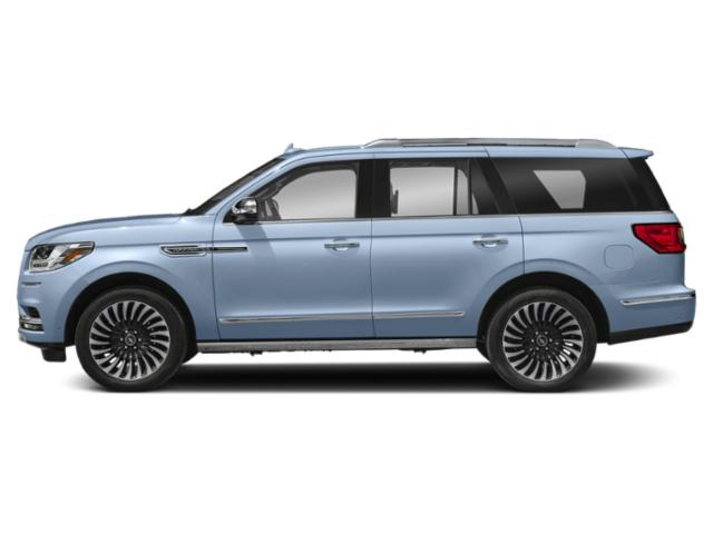 Chroma Crystal Blue 2018 Lincoln Navigator Pictures Navigator Utility 4D Black Label 4WD photos side view