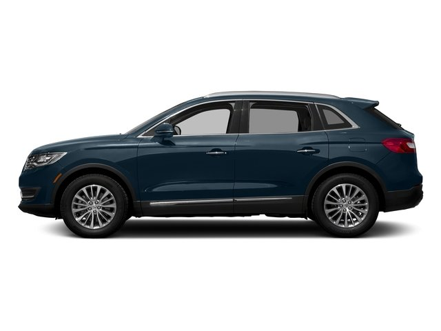 Blue Diamond Metallic 2018 Lincoln MKX Pictures MKX Utility 4D Premiere 2WD V6 photos side view