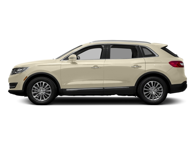 Ivory Pearl Metallic Tri-Coat 2018 Lincoln MKX Pictures MKX Utility 4D Premiere 2WD V6 photos side view