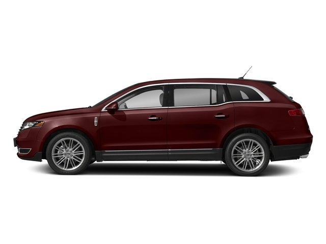 Burgundy Velvet Metallic Tinted Clearcoat 2018 Lincoln MKT Pictures MKT Wagon 4D Town Car AWD V6 photos side view