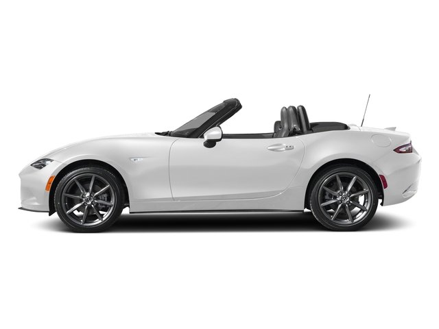 Snowflake White Pearl Mica 2018 Mazda MX-5 Miata Pictures MX-5 Miata Grand Touring Manual photos side view