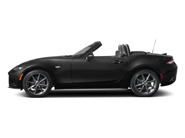 Jet Black Mica 2018 Mazda MX-5 Miata Pictures MX-5 Miata Club Auto photos side view