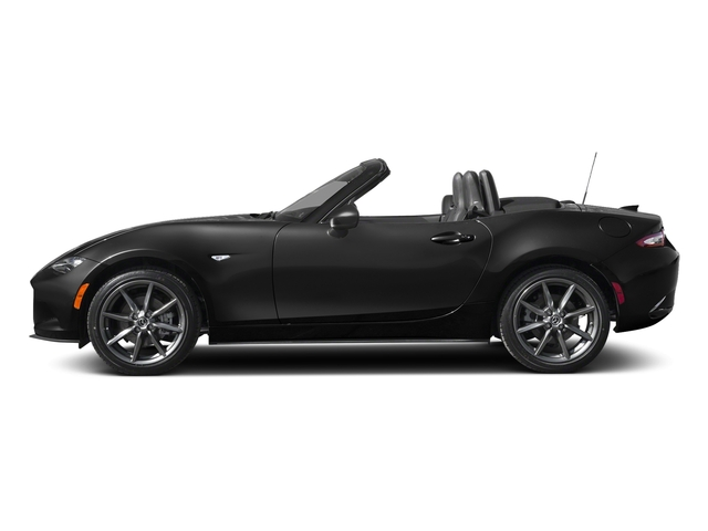 Jet Black Mica 2018 Mazda MX-5 Miata Pictures MX-5 Miata Grand Touring Manual photos side view
