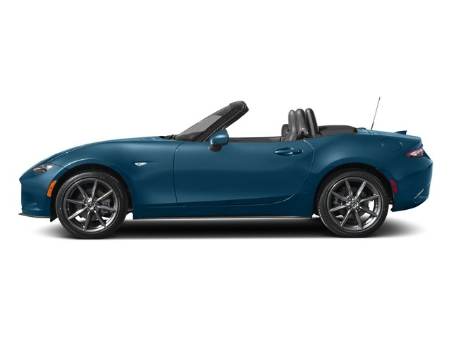 Eternal Blue 2018 Mazda MX-5 Miata Pictures MX-5 Miata Grand Touring Manual photos side view
